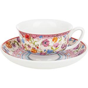 Кофейный набор 12 предметов Nouvelle Разноцветные тюльпаны (M0661163) zillinger набор кофейный с ложечками 18 предметов