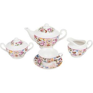 Чайный сервиз 15 предметов Nouvelle Лето в Европе (M0661169) чайный набор 4 предмета nouvelle лето в европе m0661167