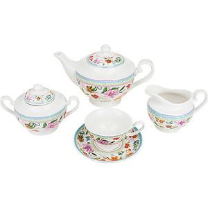 Чайный сервиз 15 предметов Nouvelle Восточная лилия (M0661175) чайник заварочный nouvelle восточная лилия 1 1 л