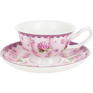 Чайный набор 12 предметов Nouvelle Розовая гортензия (M0661180) набор для специй 2 предмета nouvelle розовая гортензия 663010