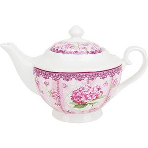Заварочный чайник 1.1 л Nouvelle Розовая гортензия (M0661185) набор для специй 2 предмета nouvelle розовая гортензия 663010