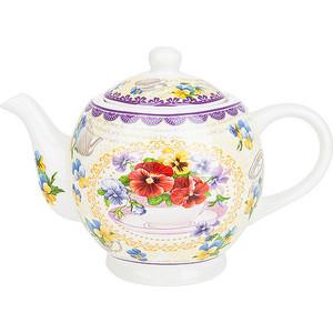 Заварочный чайник 1.12 л Nouvelle Анютины глазки (M0661210) цены
