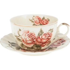 Чайный набор 12 предметов Best Home Porcelain Рубиновые розы (M1270295) best home porcelain салфетница рубиновые розы 4х8х13 см