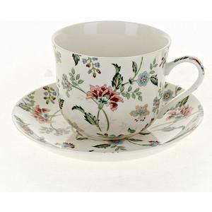 Чайная пара Best Home Porcelain Альпийский сад (M1270606) чайная пара королевский сад