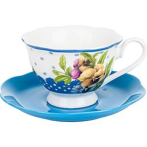 Фотография товара чайный набор 12 предметов Best Home Porcelain Анютины глазки (M2320403) (796003)