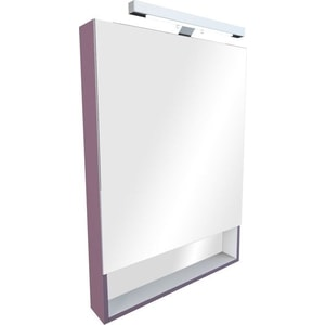 Зеркальный шкаф Roca Gap 60 фиолетовый плёнка (ZRU9302751) зеркальный шкафчик roca the gap 70 см белый zru9302749