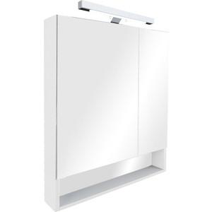 Зеркальный шкаф Roca Gap 70 белый глянец (ZRU9302886) зеркальный шкафчик roca the gap 70 см белый zru9302749