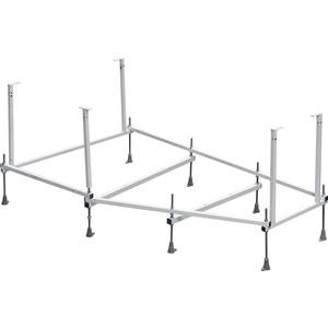 Монтажный комплект Roca Hall Angular 150х100 (каркас, слив-перелив, крепления) (ZRU9302868)