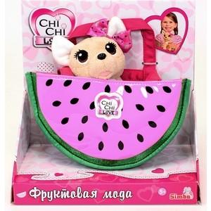 Simba Плюшевая собачка Chi-Chi love Фруктовая мода, с сумочкой, 18см., 1/6 (5893116)