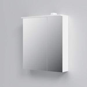 Зеркальный шкаф Am.Pm Spirit 2.0 60 см с LED подсветкой левый белый (M70AMCL0601WG) брюки д костюма puma spirit 65363703 m чёрный