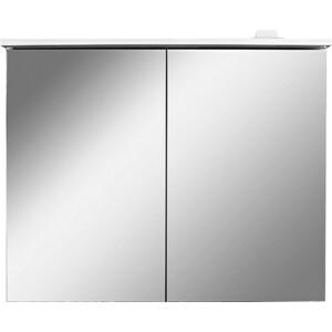 Зеркальный шкаф Am.Pm Spirit 2.0 80 см с LED подсветкой белый (M70AMCX0801WG)