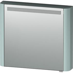 все цены на Зеркальный шкаф Am.Pm Sensation 80 см левый с подсветкой мятный (M30MCL0801GG) онлайн