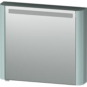 все цены на Зеркальный шкаф Am.Pm Sensation 80 см правый с подсветкой мятный (M30MCR0801GG) онлайн