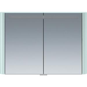 Зеркальный шкаф Am.Pm Sensation 100 см с подсветкой мятный (M30MCX1001GG) зеркальный шкаф am pm sensation 100 см с подсветкой светло голубой m30mcx1001bg