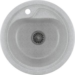 Кухонная мойка Mixline ML-GM10 44х44 серый 310 (4630030632566) кухонная мойка mixline ml gm10 44х44 песочный 302 4630030632535