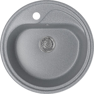 Кухонная мойка Mixline ML-GM10 44х44 темно-серый 309 (4630030632627) кухонная мойка mixline ml gm10 44х44 песочный 302 4630030632535