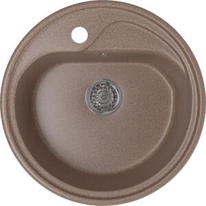 Кухонная мойка Mixline ML-GM10 44х44 терракотовый 307 (4630030632689) кухонная мойка mixline ml gm10 44х44 светло розовый 311 4630030632658