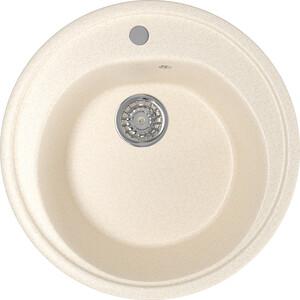 Кухонная мойка Mixline ML-GM11 50х50 бежевый 328 (4630030632955) кухонная мойка mixline ml gm18 49х64 бежевый 328 4630030634638