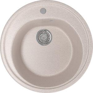 Кухонная мойка Mixline ML-GM11 50х50 песочный 302 (4630030632771) кухонная мойка mixline ml gm10 44х44 бежевый 328 4630030632719