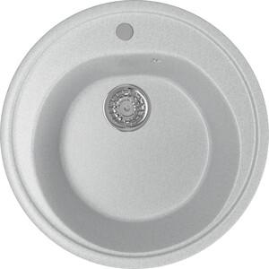 Кухонная мойка Mixline ML-GM11 50х50 серый 310 (4630030632801) кухонная мойка mixline ml gm10 44х44 бежевый 328 4630030632719