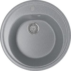 Кухонная мойка Mixline ML-GM11 50х50 темно-серый 309 (4630030632863) кухонная мойка mixline ml gm10 44х44 бежевый 328 4630030632719