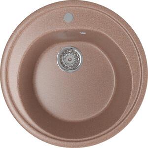Кухонная мойка Mixline ML-GM11 50х50 терракотовый 307 (4630030632924) кухонная мойка mixline ml gm10 44х44 бежевый 328 4630030632719