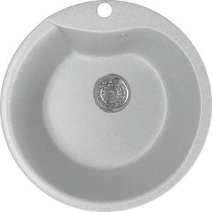 Кухонная мойка Mixline ML-GM12 48х48 серый 310 (4630030633044)