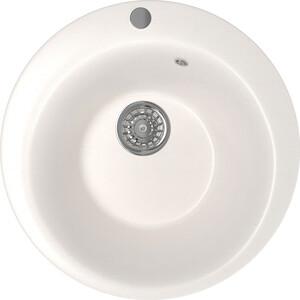 Кухонная мойка Mixline ML-GM13 49,5х49,5 белый 331 (4630030633464) кухонная мойка mixline ml gm10 44х44 бежевый 328 4630030632719