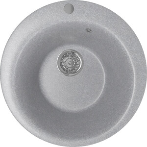 Кухонная мойка Mixline ML-GM13 49,5х49,5 графит 342 (4620031445517) кухонная мойка mixline ml gm10 44х44 бежевый 328 4630030632719