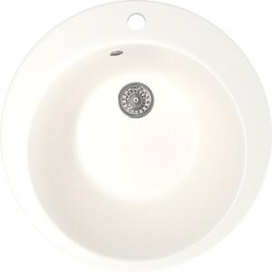 Кухонная мойка Mixline ML-GM13 49,5х49,5 молоко 341 (4620031442578) кухонная мойка mixline ml gm10 44х44 бежевый 328 4630030632719