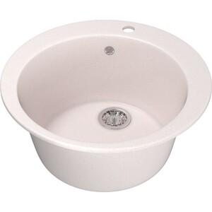 Кухонная мойка Mixline ML-GM13 49,5х49,5 светло-розовый 311 (4630030633372) кухонная мойка mixline ml gm10 44х44 бежевый 328 4630030632719