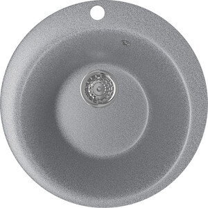 Кухонная мойка Mixline ML-GM13 49,5х49,5 темно-серый 309 (4630030633341) цены