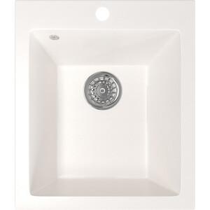 Кухонная мойка Mixline ML-GM14 42х49,5х19 белый 331 (4630030633709) кухонная мойка mixline ml gm10 44х44 бежевый 328 4630030632719