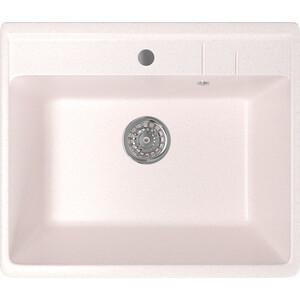 Кухонная мойка Mixline ML-GM15 49х55х20 светло-розовый 311 (4630030633853) кухонная мойка mixline ml gm10 44х44 бежевый 328 4630030632719