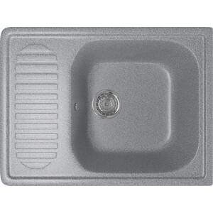 Кухонная мойка Mixline ML-GM18 49х64 темно-серый 309 (4630030634546) кухонная мойка mixline ml gm18 49х64 бежевый 328 4630030634638