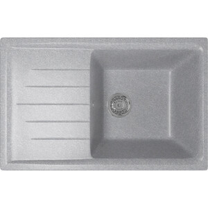 Кухонная мойка Mixline ML-GM19 49,5х75 графит 342 (4620031445692) кухонная мойка mixline ml gm10 44х44 бежевый 328 4630030632719