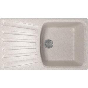 Кухонная мойка Mixline ML-GM20 48х83 песочный 302 (4630030634935) кухонная мойка mixline ml gm10 44х44 песочный 302 4630030632535