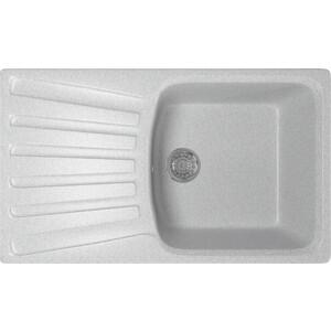 Кухонная мойка Mixline ML-GM20 48х83 серый 310 (4630030634966)