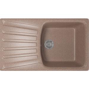 Кухонная мойка Mixline ML-GM20 48х83 терракотовый 307 (4630030635086) кухонная мойка mixline ml gm10 44х44 терракотовый 307 4630030632689