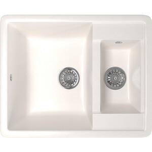 Кухонная мойка Mixline ML-GM21 48,5х60 белый 331 (4630030635383) кухонная мойка mixline ml gm10 44х44 бежевый 328 4630030632719