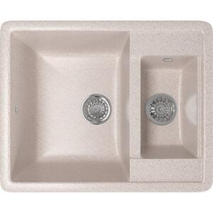Кухонная мойка Mixline ML-GM21 48,5х60 песочный 302 (4630030635178) кухонная мойка mixline ml gm10 44х44 бежевый 328 4630030632719