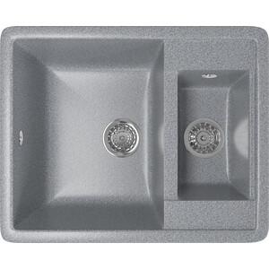 Кухонная мойка Mixline ML-GM21 48,5х60 темно-серый 309 (4630030635260) тв тюнер внешний bbk smp123hdt2 темно серый smp123hdt2 темно серый
