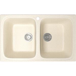 Фотография товара кухонная мойка Mixline ML-GM23 49х76 бежевый 328 (4630030635833) (796714)