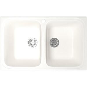 Фотография товара кухонная мойка Mixline ML-GM23 49х76 белый 331 (4630030635864) (796715)