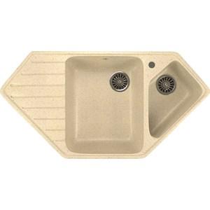 Кухонная мойка Mixline ML-GM25 50х97 бежевый 328 (4630030636311) кухонная мойка mixline ml gm25 50х97 бежевый 328 4630030636311