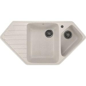 Кухонная мойка Mixline ML-GM25 50х97 белый 331 (4630030636342) кухонная мойка mixline ml gm25 50х97 бежевый 328 4630030636311