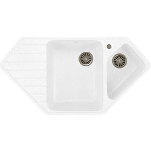 Кухонная мойка Mixline ML-GM25 50х97 молоко 341 (4620031442936) кухонная мойка mixline ml gm25 50х97 бежевый 328 4630030636311