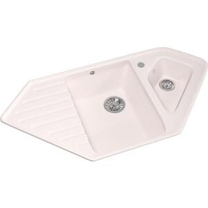 Кухонная мойка Mixline ML-GM25 50х97 светло-розовый 311 (4630030636250) кухонная мойка mixline ml gm25 50х97 бежевый 328 4630030636311