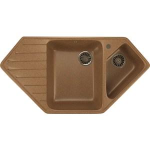 Кухонная мойка Mixline ML-GM25 50х97 терракотовый 307 (4630030636281) кухонная мойка mixline ml gm10 44х44 терракотовый 307 4630030632689