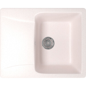 Кухонная мойка Mixline ML-GM26 47х58 светло-розовый 311 (4630030636496) кухонная мойка mixline ml gm26 47х58 серый 310 4630030636403